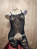 Сексуальная боди-сетка с рисунком в упаковке/ бодистокинг сексуальное белье эротическое белье, фото 3