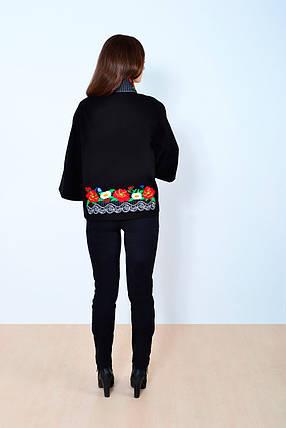 """Напів-пальто жіноче з вишивкою"""" Мереживо """", фото 2"""