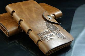 """Портмоне-клатч мужской кожаный """"BAILINI"""""""