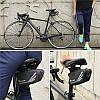 Велосумка West Biking 0707219 0.7L Black под седло с отражателями горизонтальная, фото 2