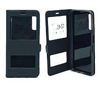 Чехол книжка Flip QYS Samsung A750, A7 2018 чорний