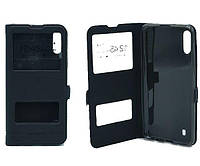 Чехол книжка Flip QYS Samsung M105, M10 2019 чорний