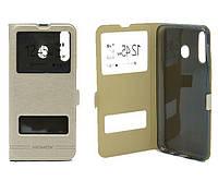 Чехол книжка Flip QYS Samsung M305, M30 2019 золотий