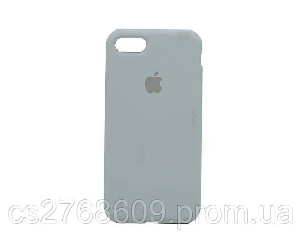 "Чехол силікон ""Silicone Case Original"" iPhone 7, iPhone 8 світло бежевий закритий низ"
