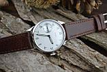 Часы Искра, наручные. Механизм советский, от карманных часов, 3602, фото 5