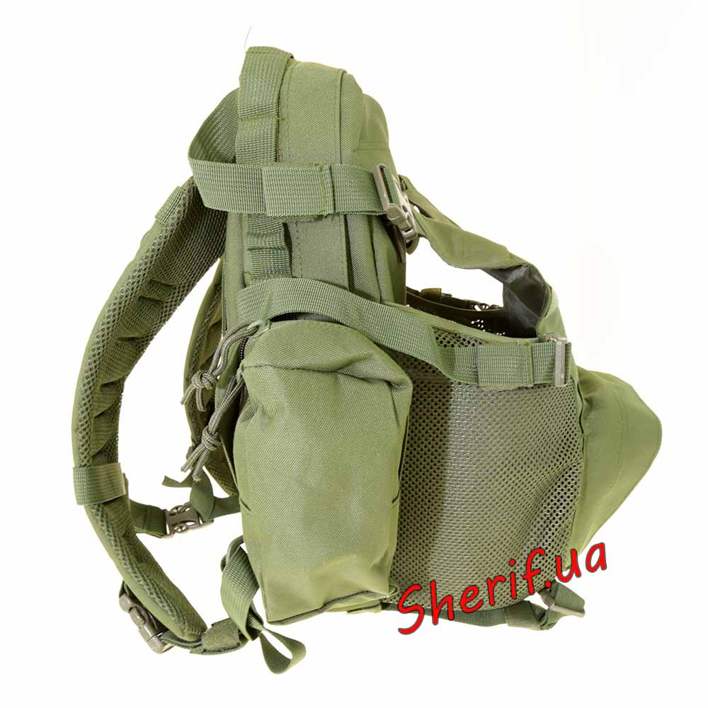 Тактический военный рюкзак Max Fuchs Operations Molle Olive