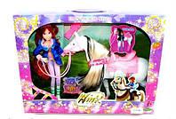 Кукла Winx с лошадкой