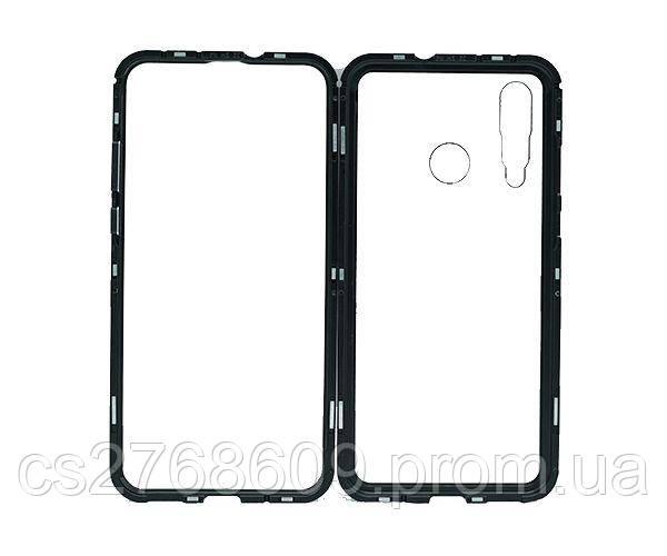Бампер Металевий-Скляний Huawei Nova 4 чорний