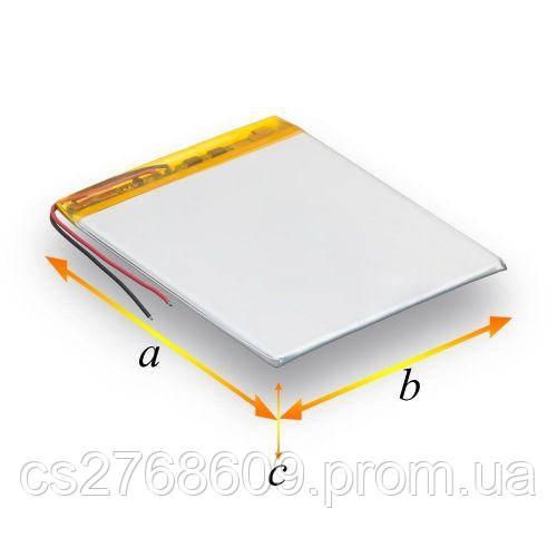 Polymer battery 0450100P (3000 mah) (на 3 дроти)