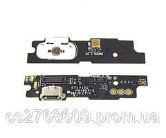 """Нижня плата Meizu M3 Note, M681h з роз'ємом зарядки, мікрофоном """"Original"""""""