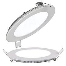 Светодиодный встраиваемый светильник круг 24W Slim-24 Horoz 6400K, фото 3