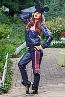 Спортивный женский дутый костюм на синтепоне, только р.С! . Арт-1415/17.