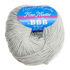 Пряжа для вязания НЬЮ МАСТЕР Италия цвет серо голубой 9501