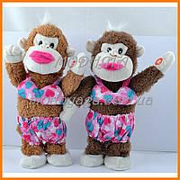 Интерактивная игрушка| Мягкая игрушка обезьянка