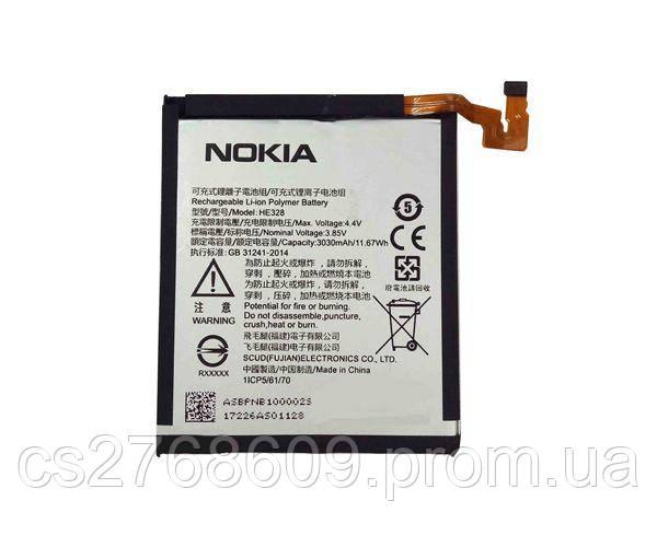 """Акумулятор Батарея """"100% Original"""" Nokia 8 HE328"""