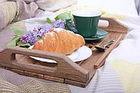 Поднос для завтраков из дерева 45,2х22х5,5 см LineWood, фото 1