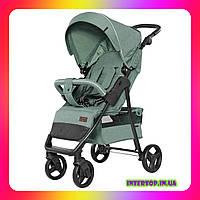 Детская прогулочная коляска CARRELLO Quattro CRL-8502 Pine Green зеленый цвет. Дитячий візок