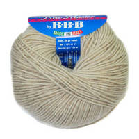Пряжа для вязания НЬЮ МАСТЕР Италия цвет натур. беж 9904
