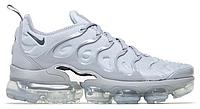 """Мужские Кроссовки Nike Vapormax Plus """"Silver"""" - """"Серые Белые"""", фото 1"""
