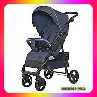 Детская прогулочная коляска CARRELLO Quattro CRL-8502 Admiral Blue синий цвет. Дитячий візок
