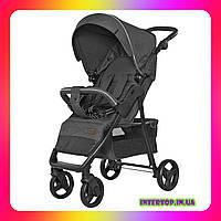 Детская прогулочная коляска CARRELLO Quattro CRL-8502 Shadow Grey серый цвет. Дитячий візок