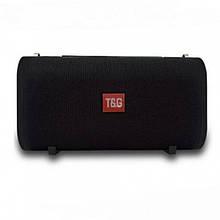 Портативная bluetooth колонка влагостойкая JBL TG-123 FM, MP3, радио Чёрная