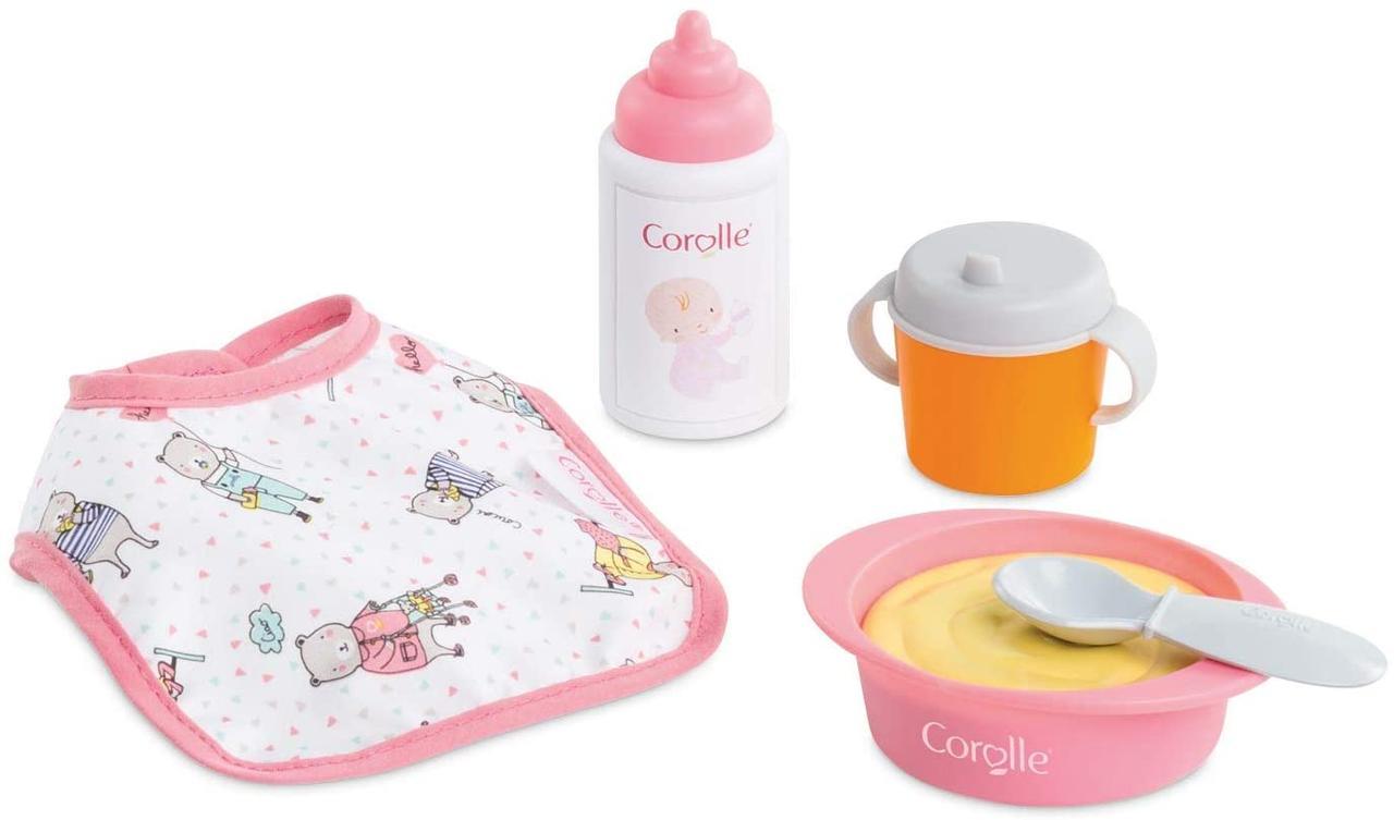 """Игровой набор Corolle """"Детский завтрак"""" с тарелкой и бутылочкой 9000110220"""