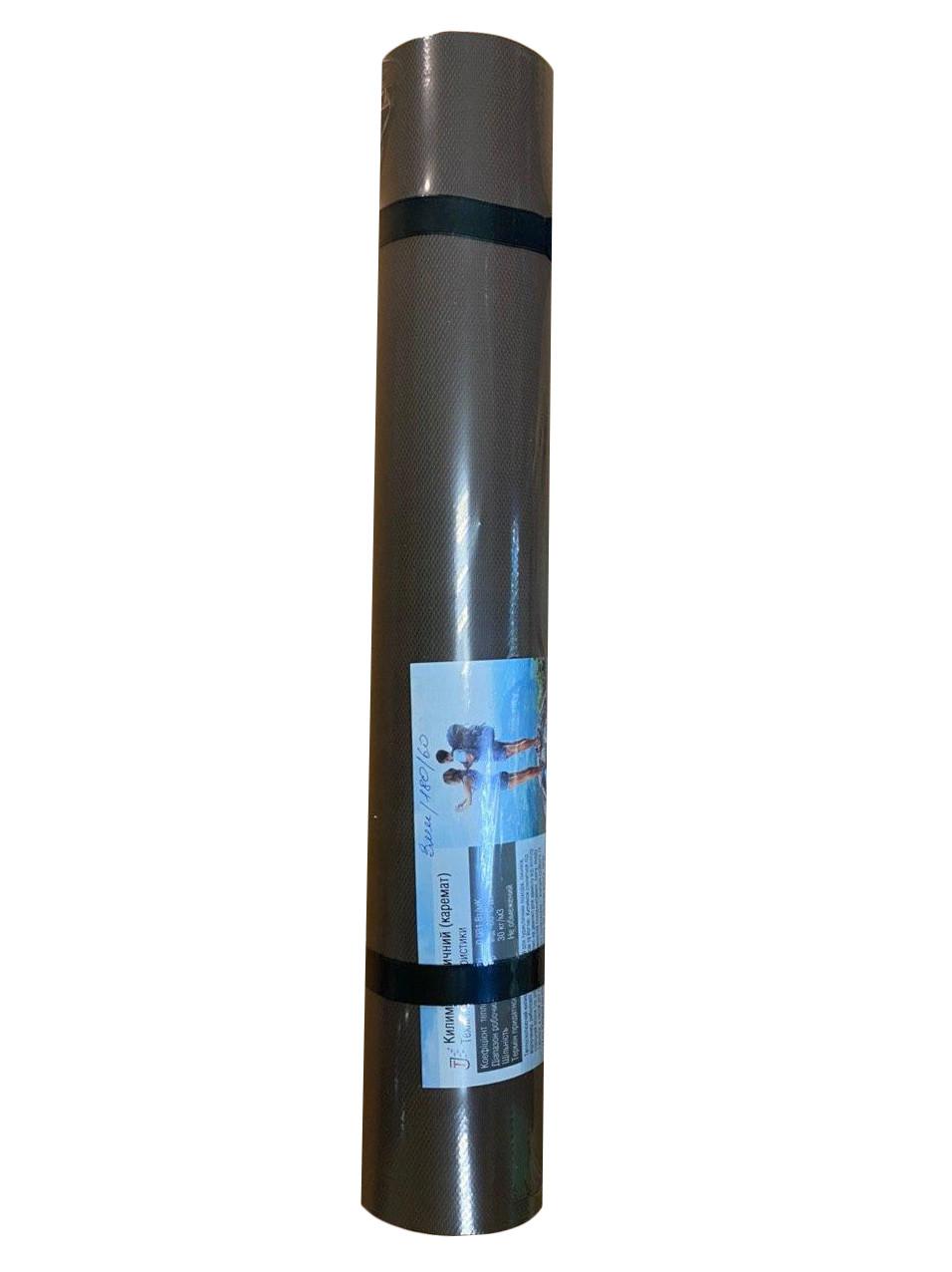 Килимок для фітнесу і йоги коричневий, т. 3 мм, 60х150 см, EVA, 130 кг/м3, виробник Україна, TERMOIZOL®