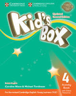 KID'S BOX UPDATED 2ND EDITION 4 ACTIVITY BOOK WITH ONLINE RESOURCES