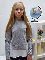 Кофта школьная 978 размеры на рост  140 см 146 см 152 см 158 см, фото 1