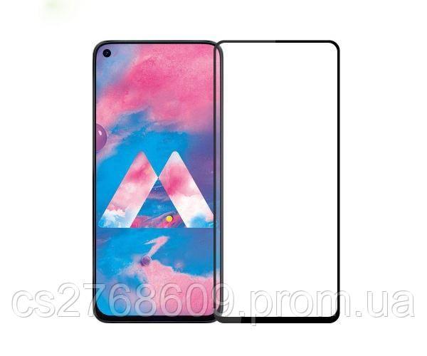 Защитное стекло захисне скло Samsung M405, M40 2019 чорний D+ (тех.пак)