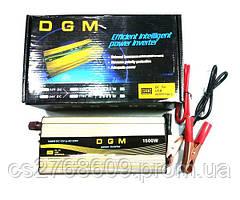 """Перетворювач з 12 на 220В 1500W """"DGM"""""""