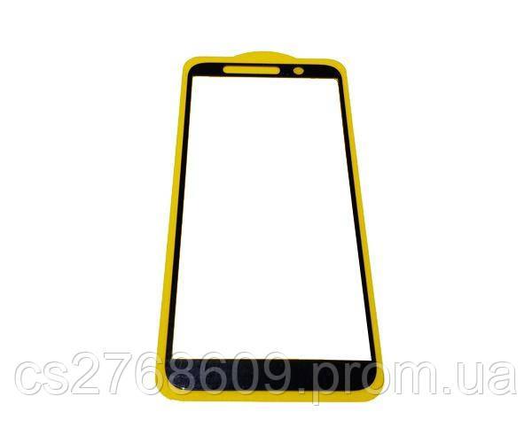 Защитное стекло захисне скло Lenovo A5 чорний 6D (тех.пак)