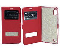 Чехол книжка Flip QYS Samsung A105, A10 2019 червоний