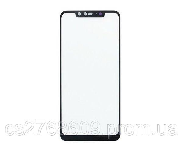 Защитное стекло захисне скло Xiaomi Redmi Note 6 Pro чорний D+ (тех.пак)