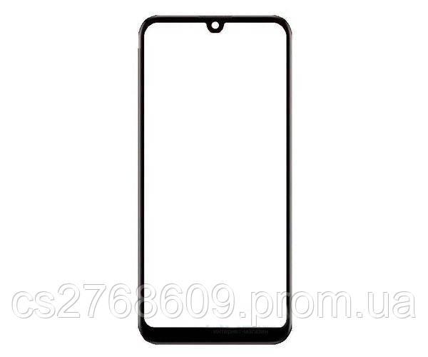 Защитное стекло захисне скло Huawei Y7 Pro 2019, DUB-LX2, Y7 2019, DUB-LX1 чорний D+ (тех.пак)