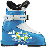 Горнолыжные ботинки детские Salomon T1 BLUE/WHITE (MD)