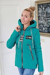 Куртка жіноча демісезонна трансформер в жилет (розміри 44, 46, 48, 50)