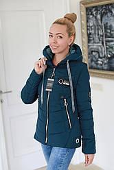 Куртка жіноча демісезонна трансформер в жилет (розміри 44, 46, 48, 50, 52)