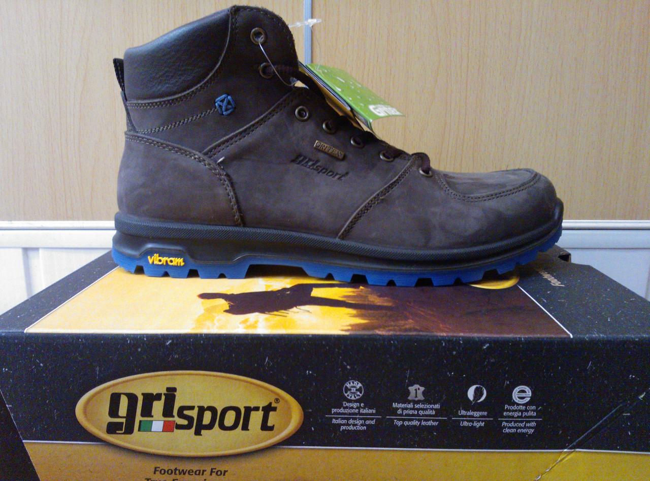 Ботинки кожаные, термо, мужские Grisport GriTex 12905N46 Италия,  гриспорт, непромокаемые, зимние