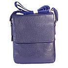 Мужская сумка из натуральной кожи с клапаном, средняя, фото 3