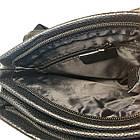 Мужская сумка из натуральной кожи с клапаном, средняя, фото 8