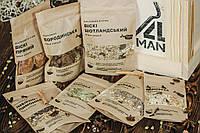 """Ящик 4MAN """"Настойки"""" № 1. Набор для настоек. Подарочный мужской набор. Набор специй для настоек в подарок"""