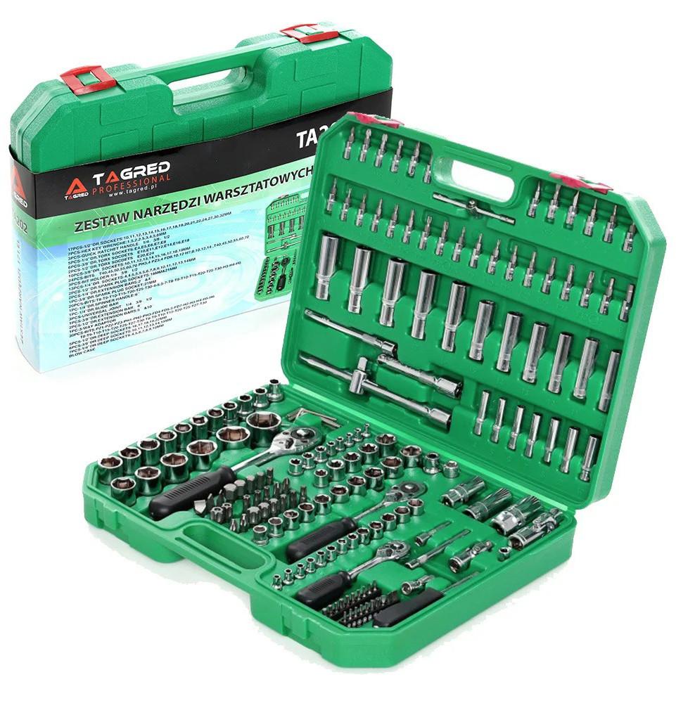 Набор инструментов ключей Tagred 172 елемента