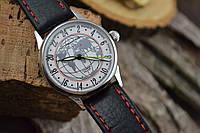 Часы Ракета 24 часа. наручные часы. Механизм советский, фото 1