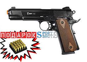 Стартовый пистолет Kuzey 911 black