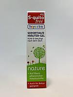 Успокаивающий травяной гель после укусов насекомых для детей S-quitofree Babys & Kids Soforthilfe Kräuter-Gel