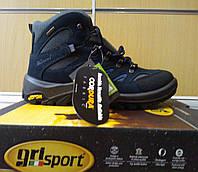Ботинки кожаные, термо, мужские Grisport GriTex 11495S16G Италия,  гриспорт, непромокаемые, зимние, фото 1