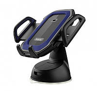 Автомобільний тримач Hoco CA32 Platinum infrared auto-induction in-car phone holder Blue