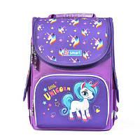Школьный рюкзак с единорогом: ортопедический, каркасный, 10 л